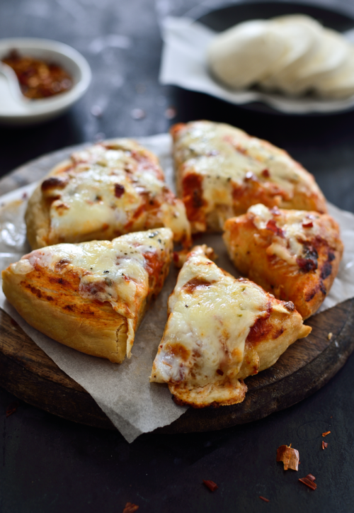 verticalfood:Homemade Pizza Crust