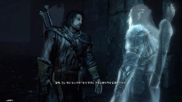 [Middle-earth:Shadow of Mordor] 기억을 전달해주는 골룸