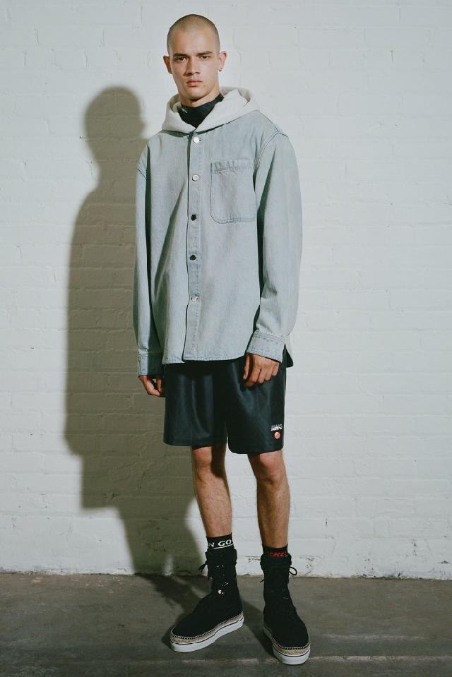 18 s/s Alexander Wang Men's look book